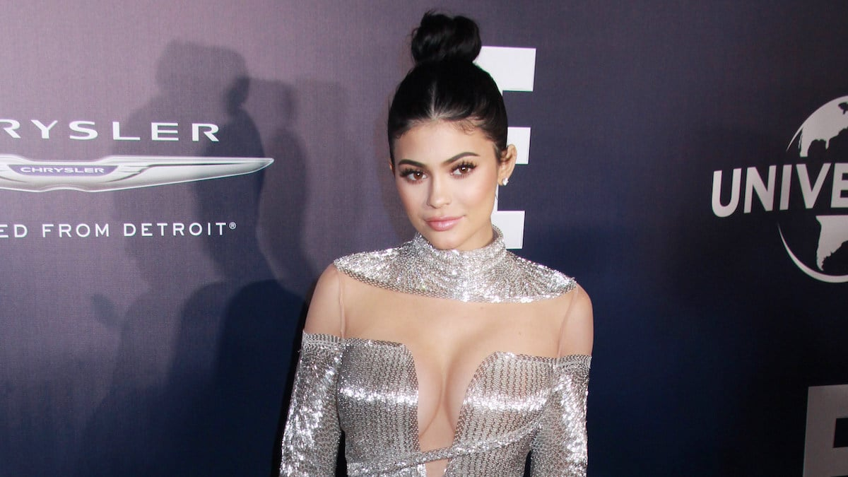 kylie jenner at 74th golden globes event