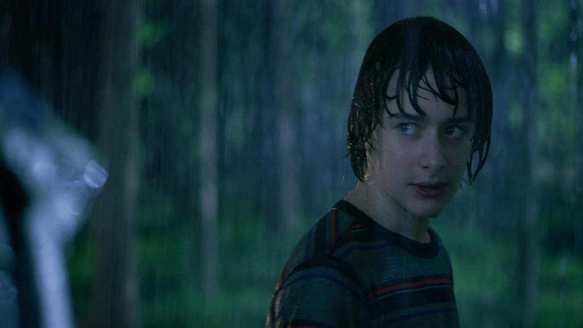 Noah Schnapp in character as Will Byers in season 3 of Stranger Things