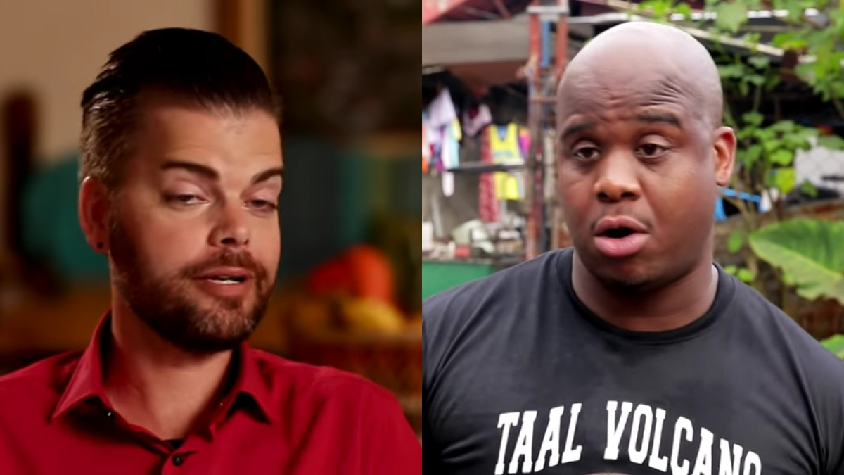 Tim Malcolm and Dean Hashim from 90 Day Fiance