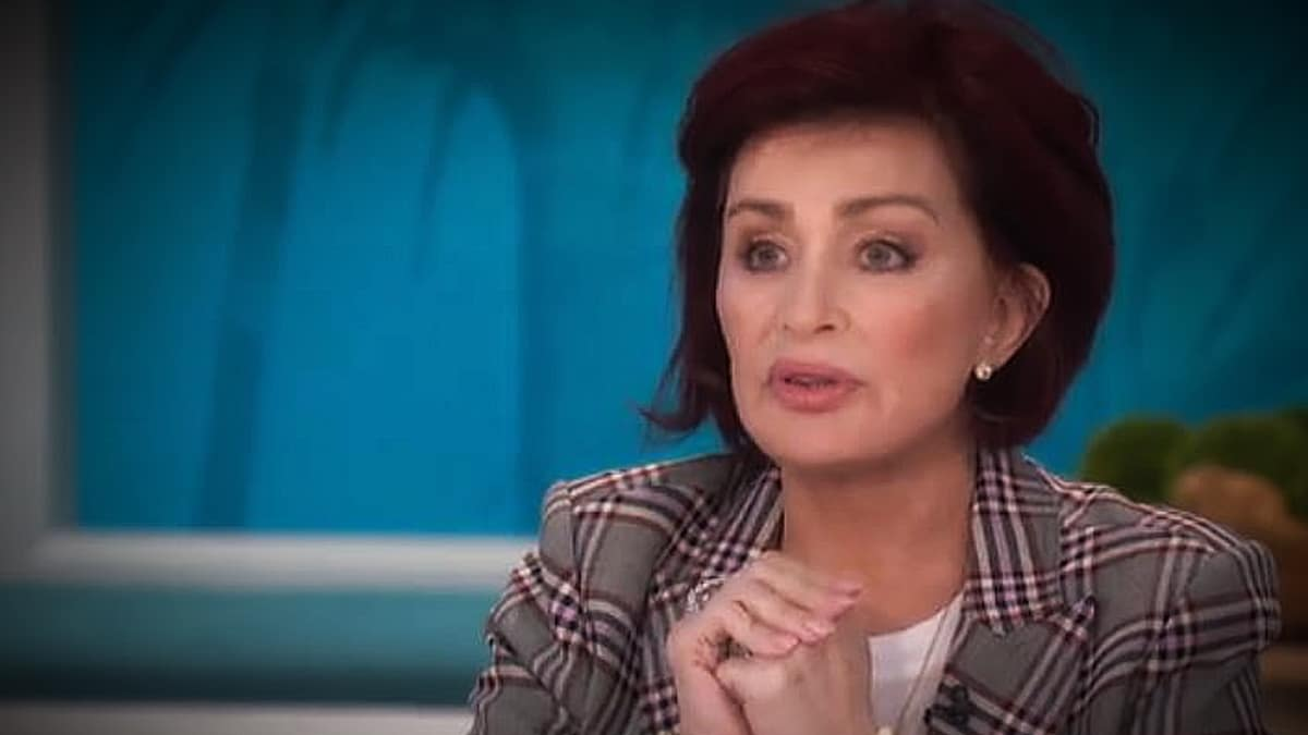 Sharon Osbourne used her The Talk time to let Wendy Williams have it for her accusations that Brinkley was faking her DWTS injuries. Pic credit: CBS