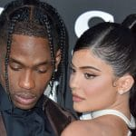 kylie jenner and travis scott at netflix premiere event