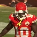 kansas city chiefs wide receiver tyreek hill injured in week 1