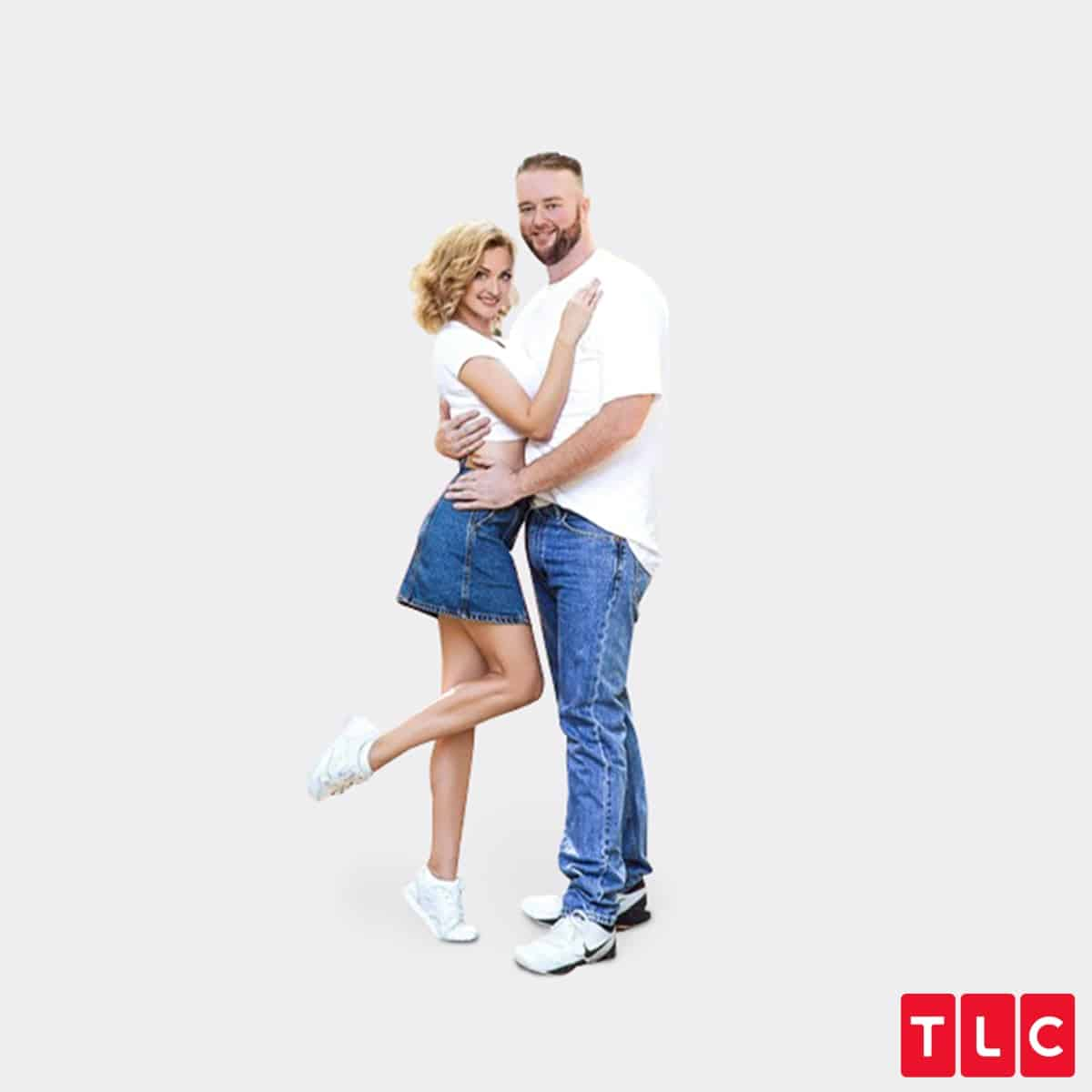 Natalie and Mike on Season 7 of 90 Day Fiance