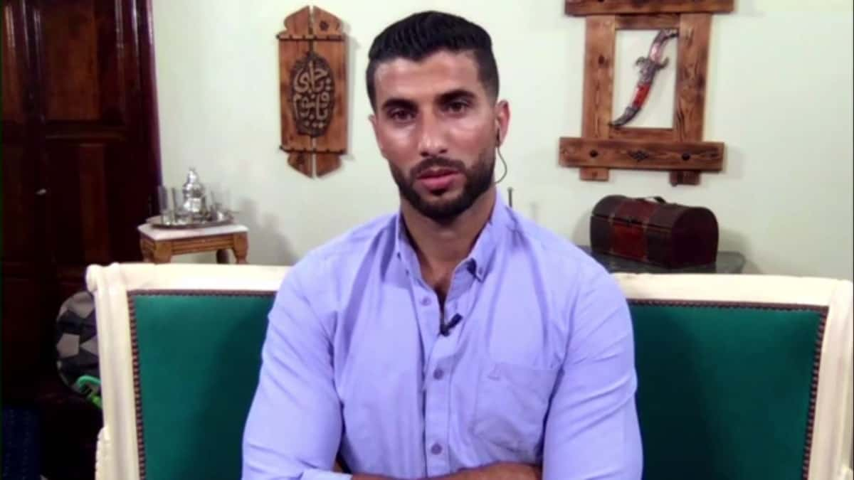 Aladin Jallali at the 90 Day Fiance: The Other Way Tell ALl