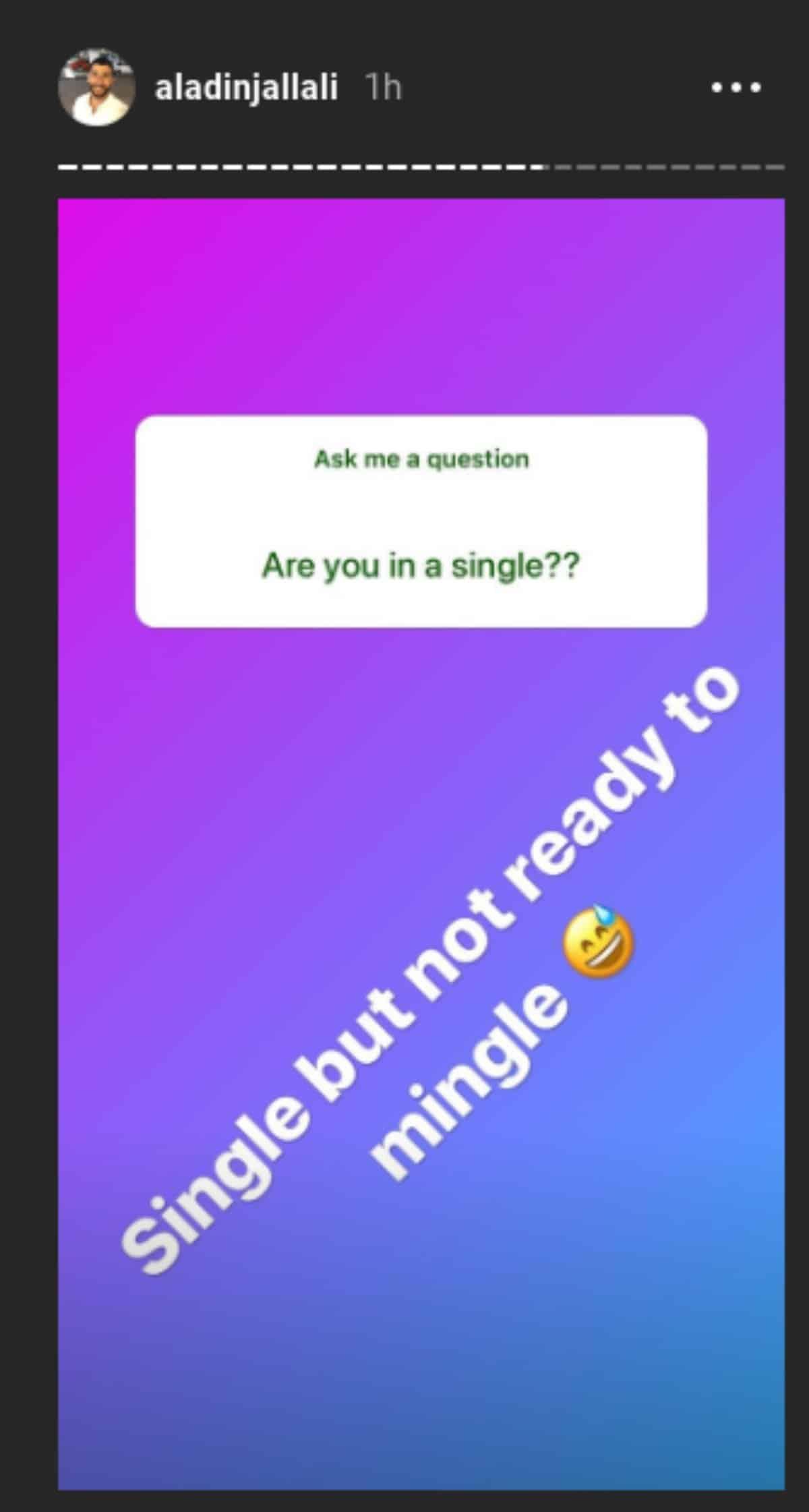 Aladin Jallali on Instagram