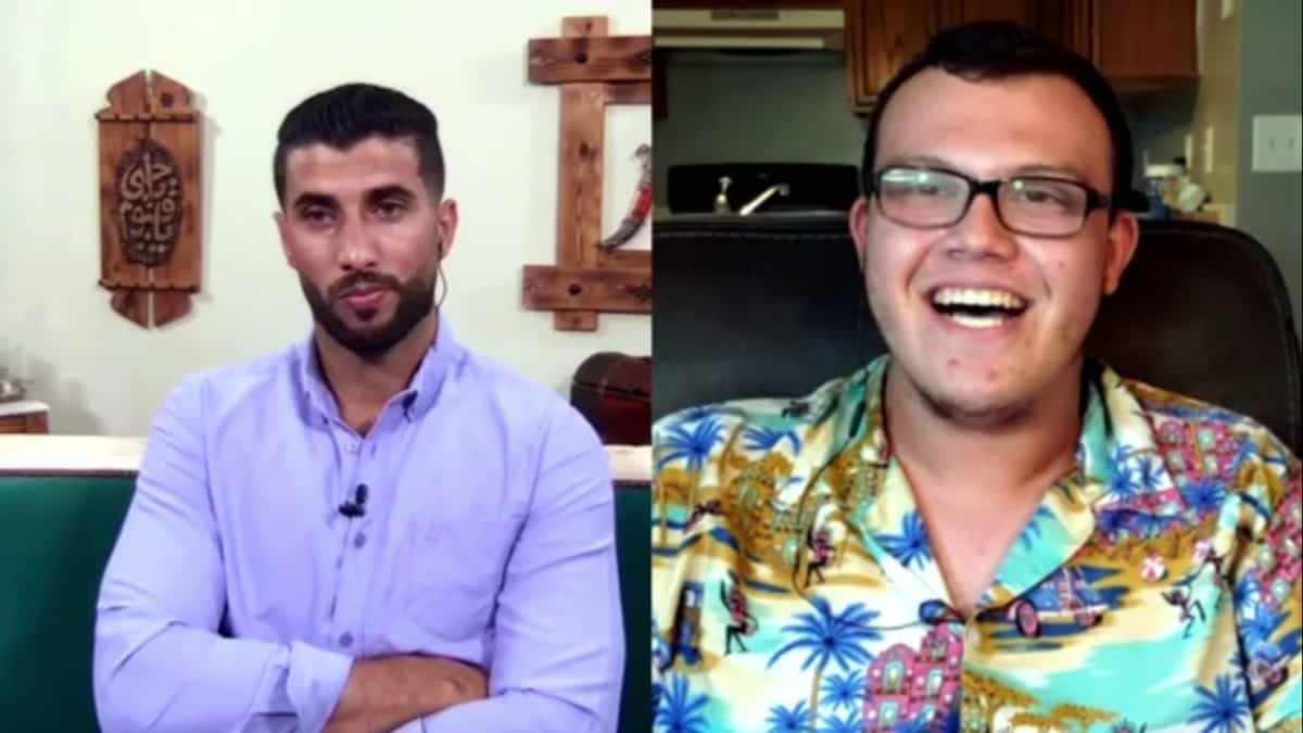 Aladin and Liam video conference in to the 90 Day Fiance The Other Way Tell All