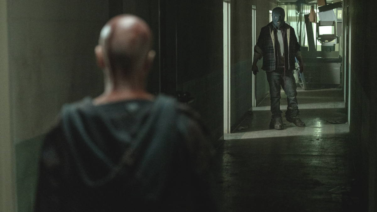 Alpha and Beta meet for the first time, as seen in Episode 2 of AMC's 'The Walking Dead' Season 10