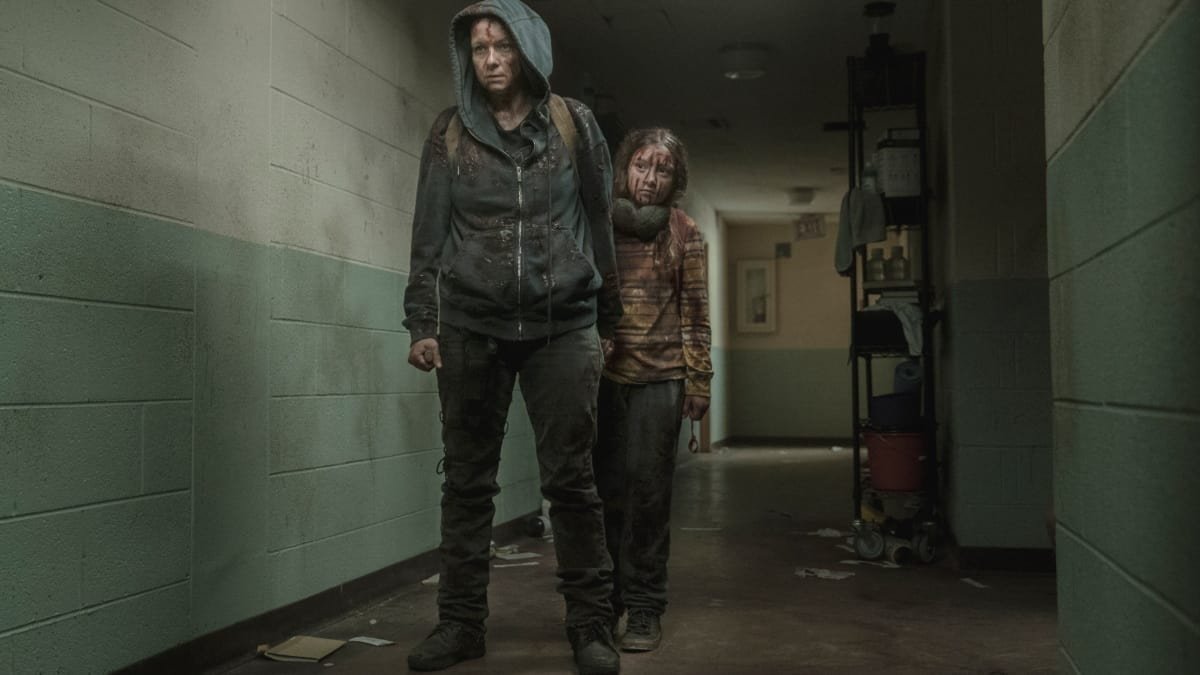 Alpha and Lydia, as seen in Episode 2 of AMC's 'The Walking Dead' Season 10