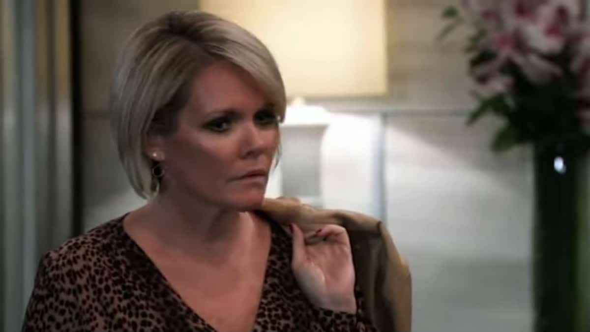 Maura West as Ava Jerome on General Hospital.