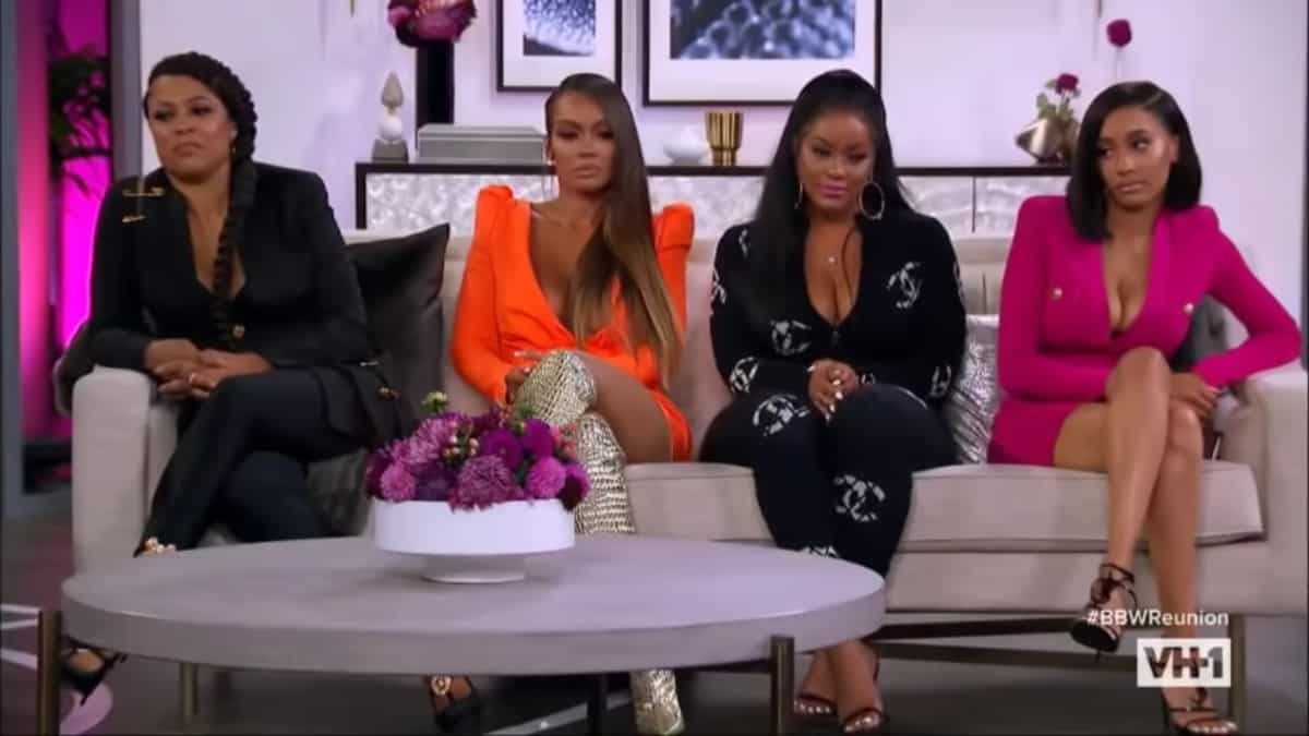 Shaunie, Evelyn, Malaysia, and Feby from Basketball Wives