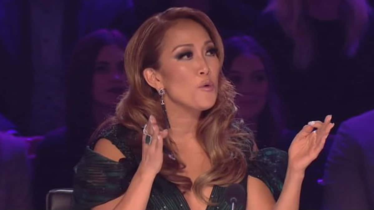 Carrie Ann Inaba falls on Dancing with the Stars.