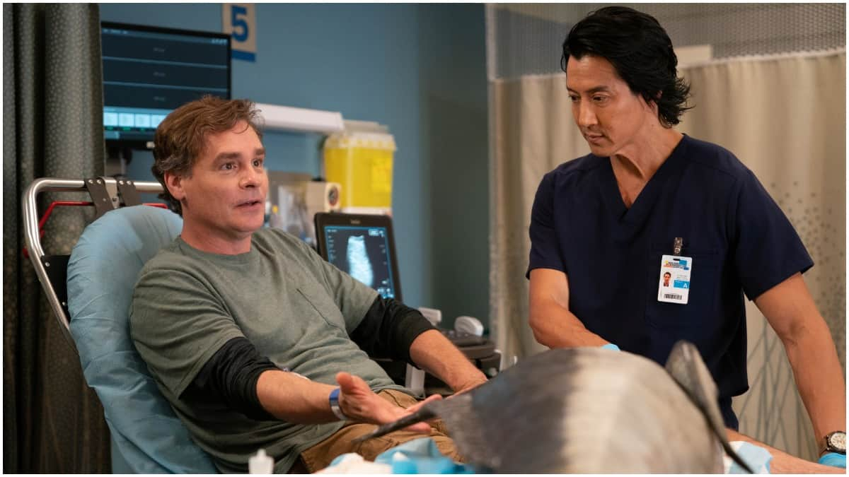 Who played Michelle's mom and Fish Guy on S3E3 of The Good Doctor?