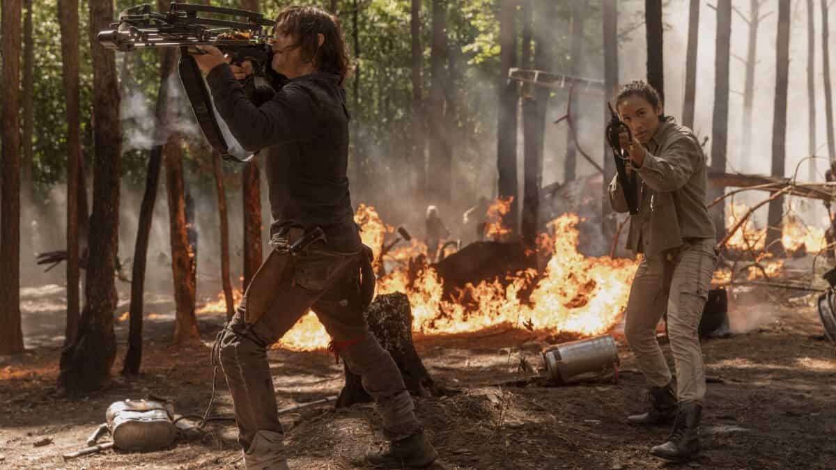 Daryl Dixon, Cyndie, Episode 1, Season 10, 'The Walking Dead'