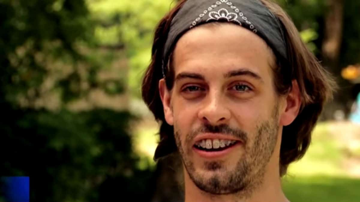 Derick Dillard during a Counting On confessional.