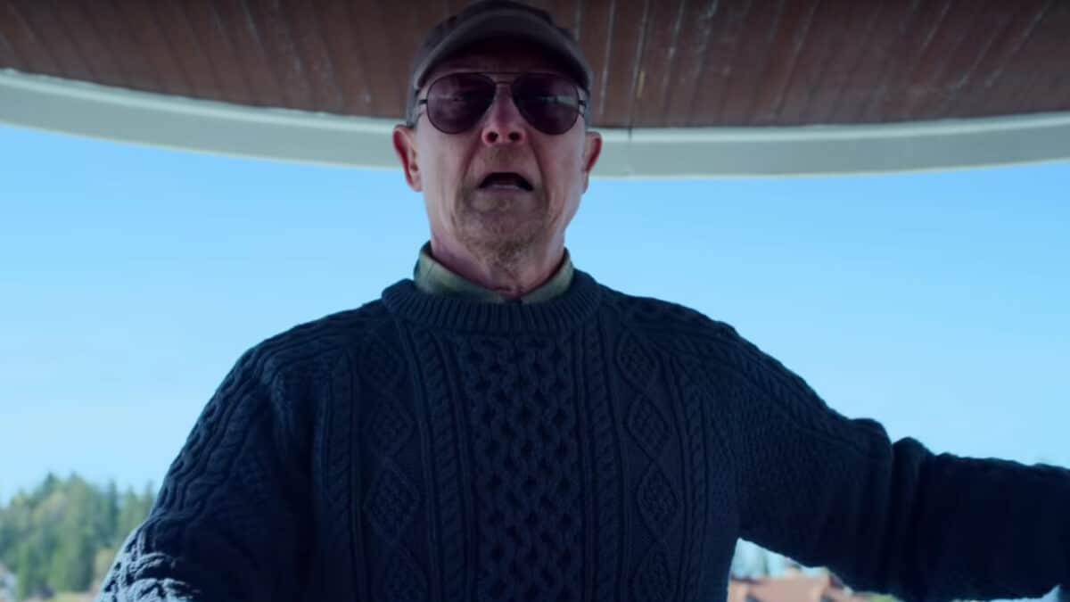 Robert Patrick from The Laundromat.