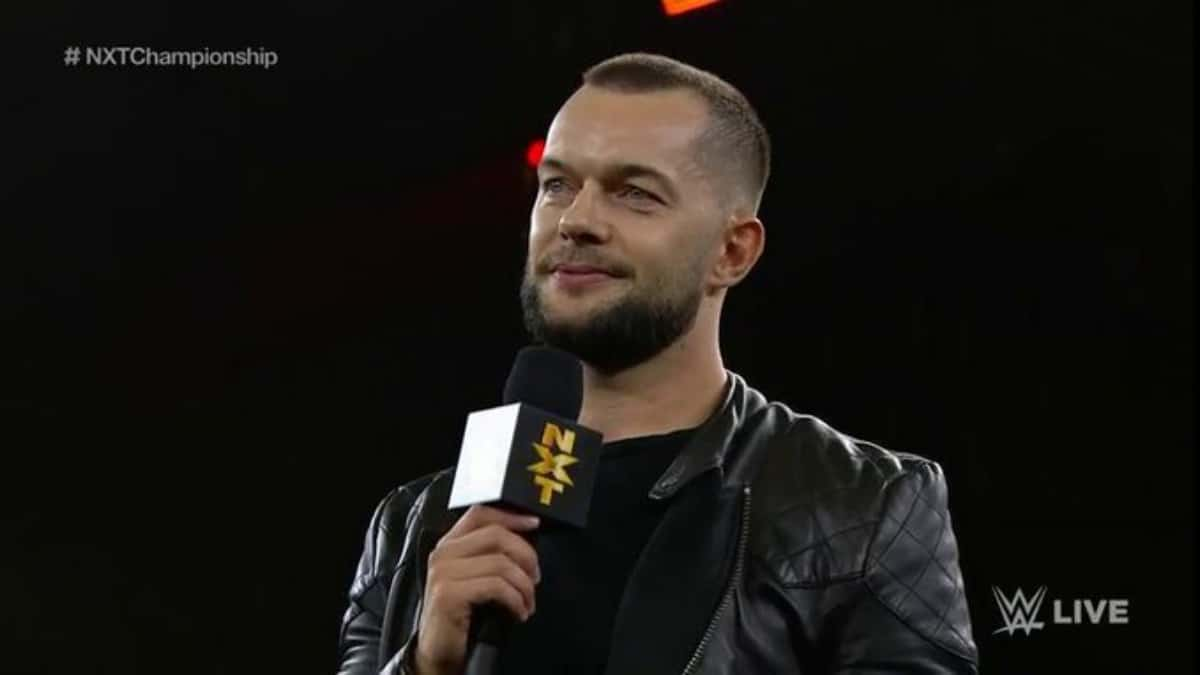 Finn Balor returns to WWE NXT