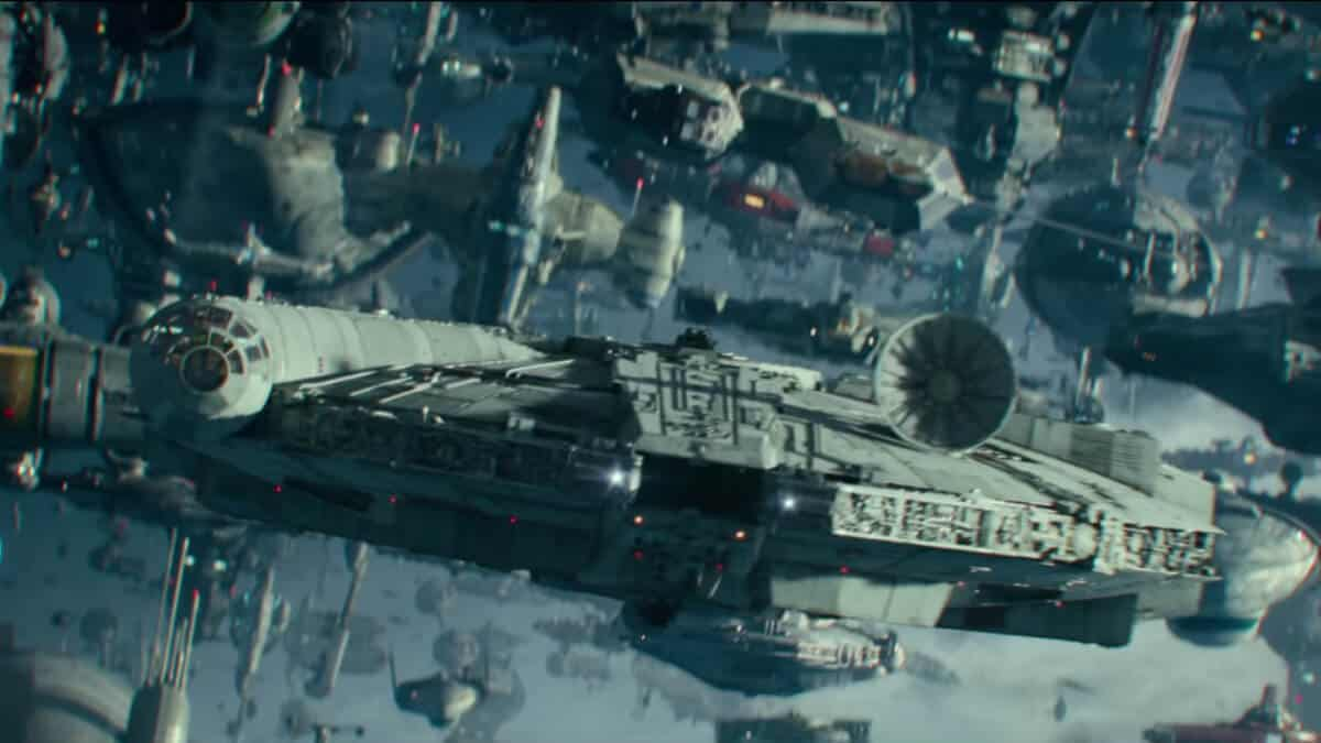 Millennium Falcon from Star Wars