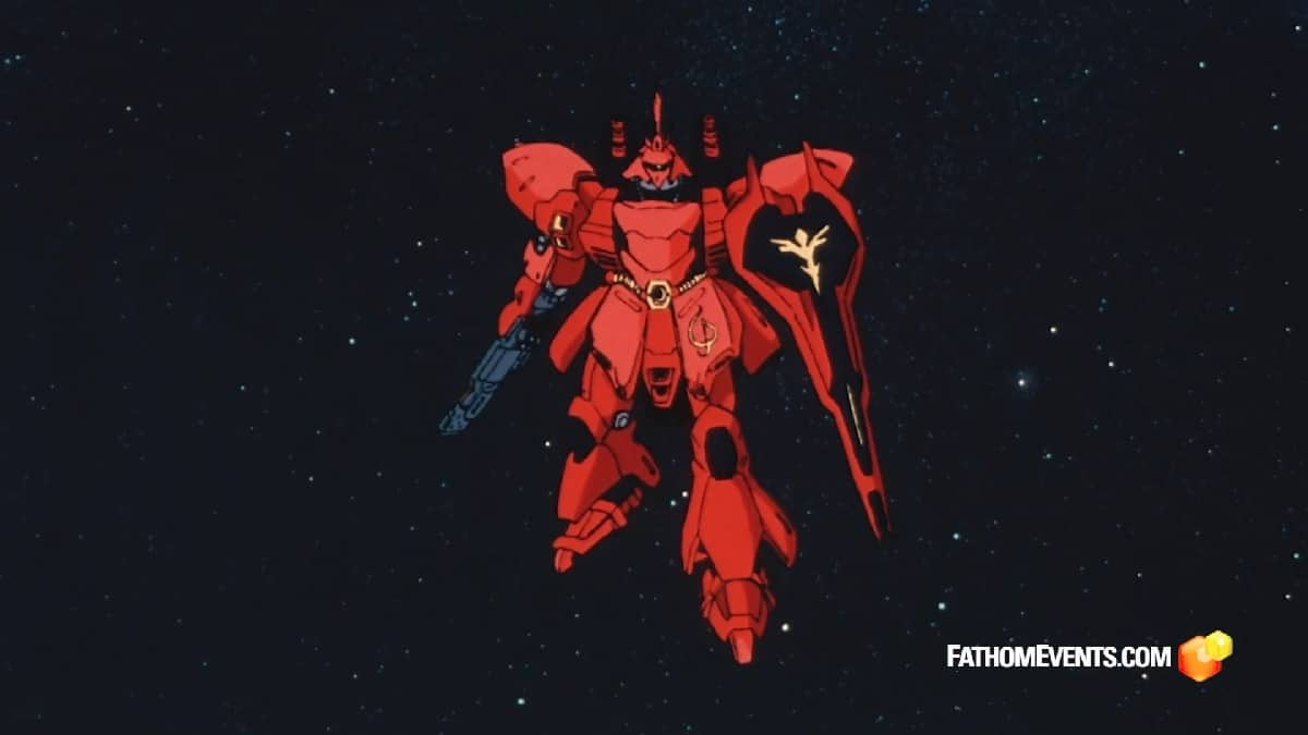 Special One Night Screening Of Mobile Suit Gundam Char S Counterattack To Celebrate The Franchise S 40th Anniversary