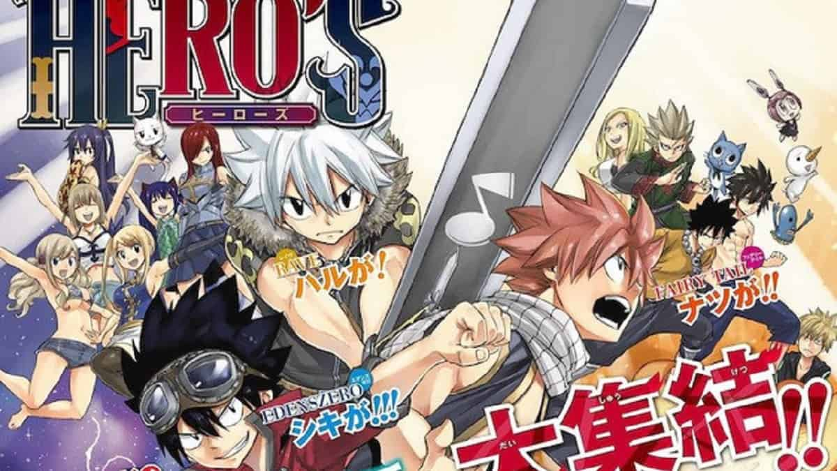 Three worlds clash in the new limited manga series HERO'S