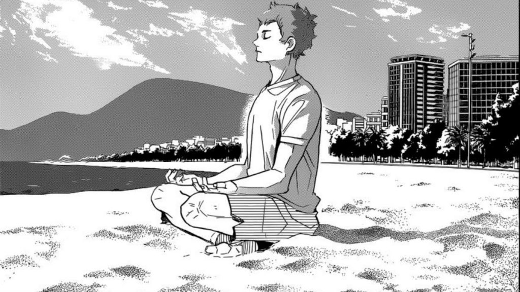 Haikyuu Manga Ending Final Arc Chapter 370 Hinata Beach