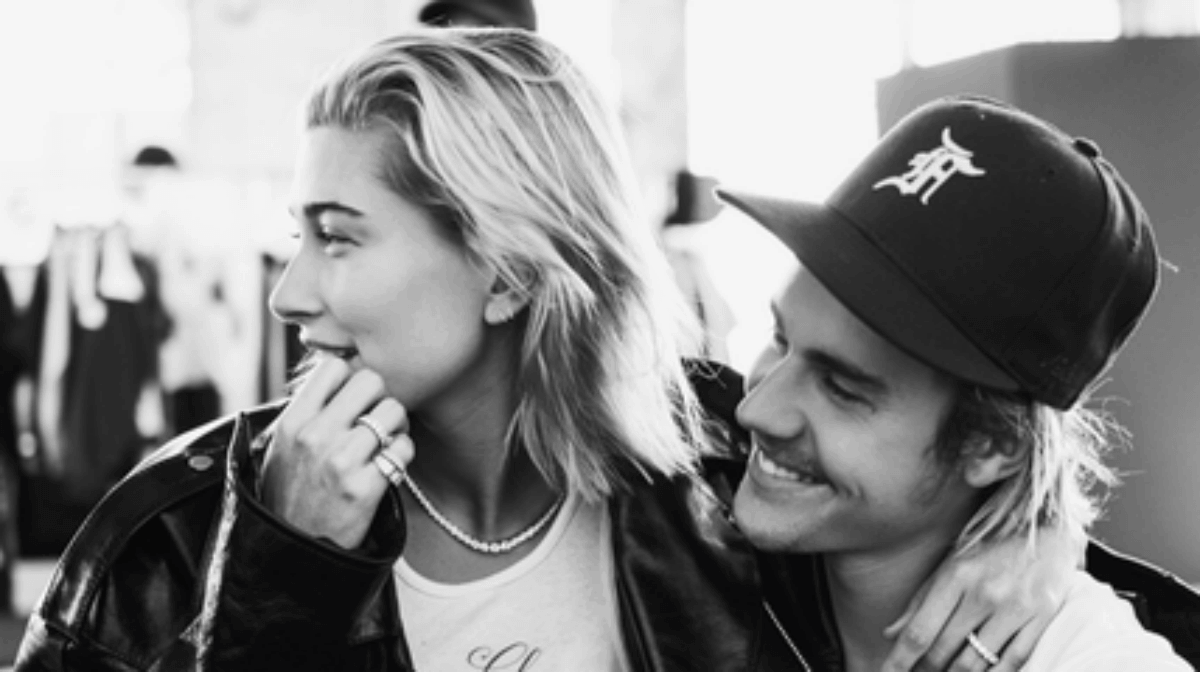 Justin Bieber humps wife Hailey Bieber in new video.
