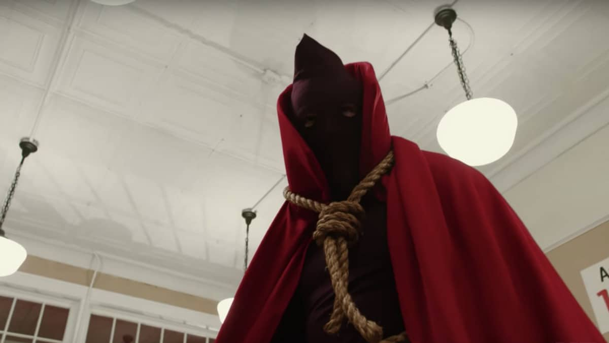 Hooded Justice on Watchmen