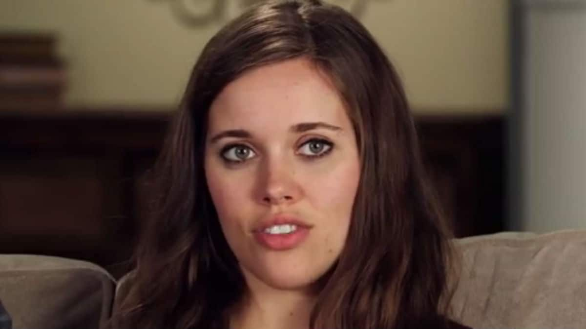 Jessa Duggar during a Counting On confessional.