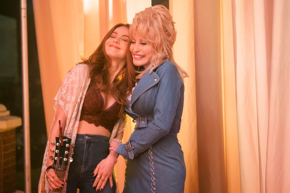 Julianne Hough and Dolly Parton in Joleen