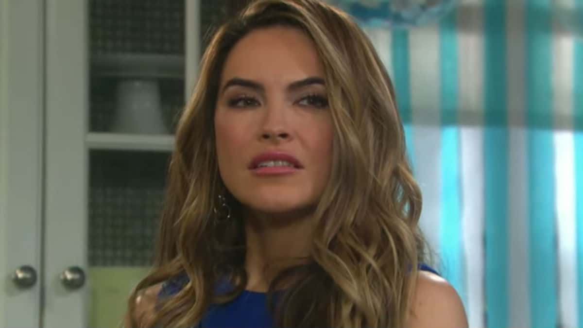 Chrishell Hartley as Jordan on Days of our Lives.