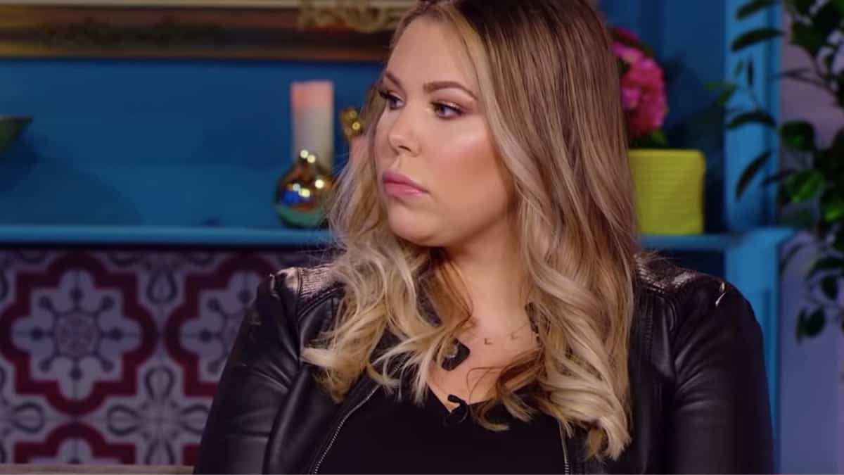 Kailyn Lowry at the Teen Mom 2 reunion