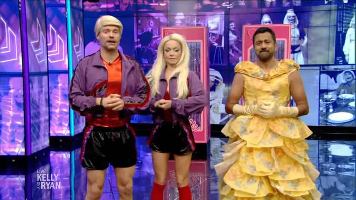 Kelly Ankelly And Ryan 2020 Halloween Costumescostumes Kelly Ripa and Ryan Seacrest Halloween costumes contest: See Mr