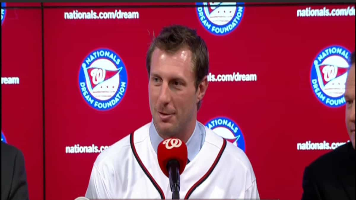 Max Scherzer takes the mound against the Brewers