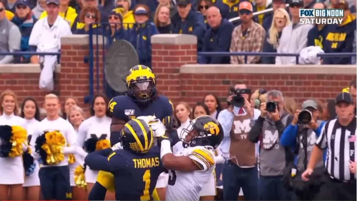Michigan's defense dominated the previously unbeaten Iowa in Week 6
