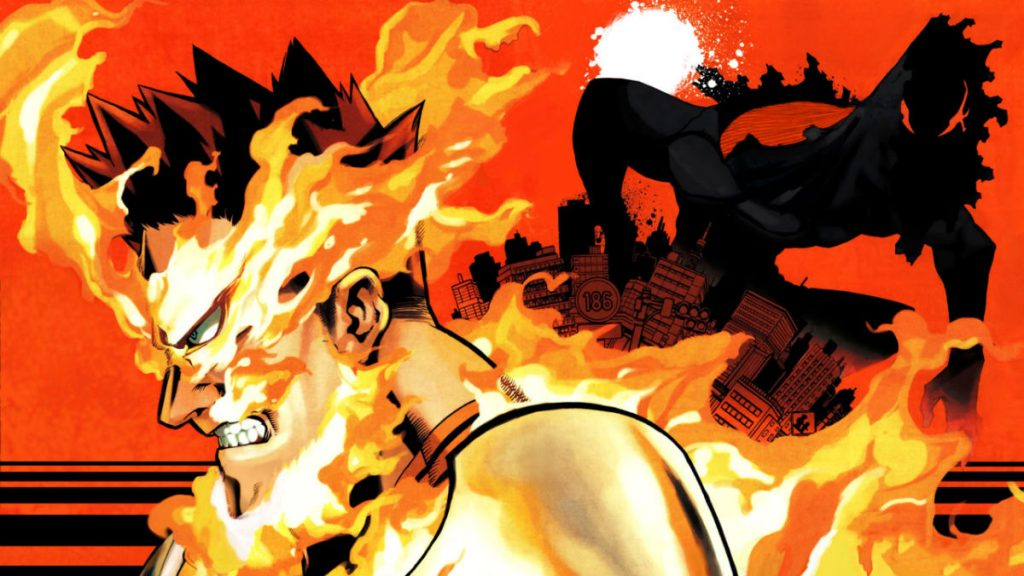 My Hero Academia manga artwork