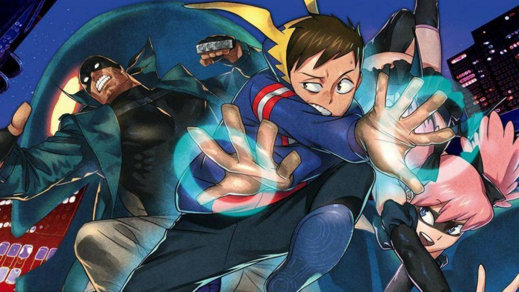 My Hero Academia: Vigilantes key art