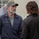 Jeffrey Dean Morgan as Negan and Norman Reedus as Daryl Dixon