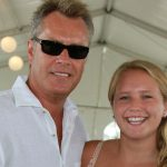 Peter Cook and daughter Sailor