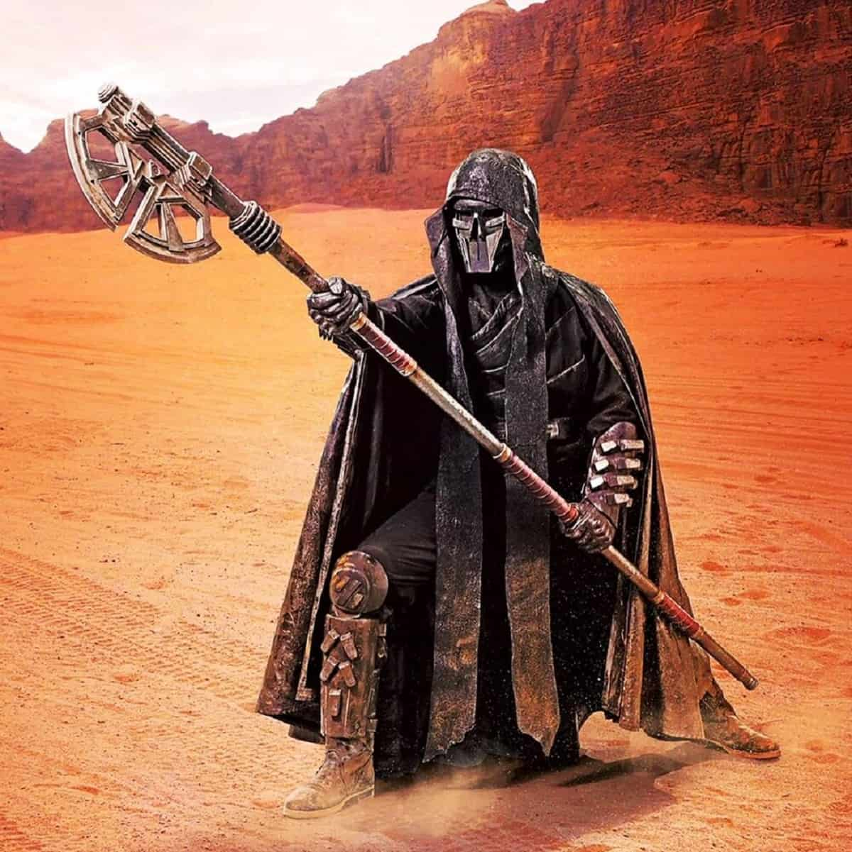 Knight of Ren with axe