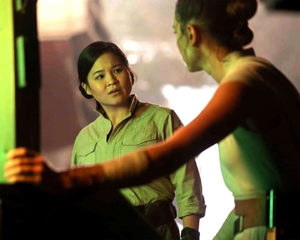 Rose Rico and Rey in the upcoming Star Wars movie
