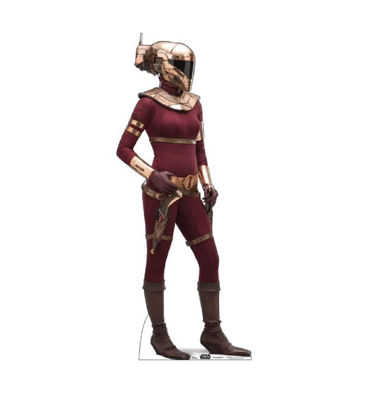 The bounty hunter Zorri Bliss
