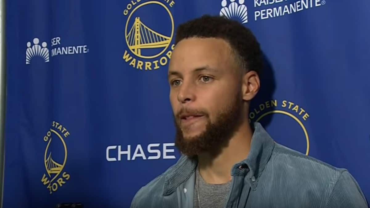Stephen Curry Interview