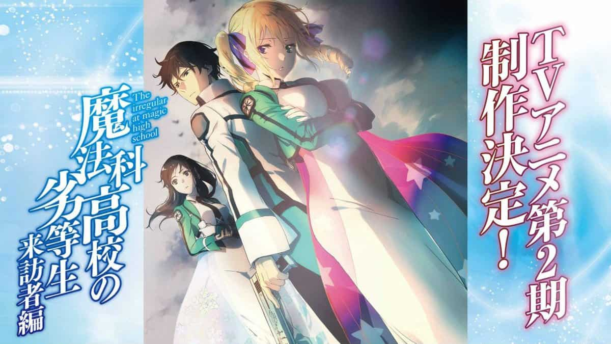 Irregular At Magic High School Season 2 poster art