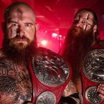 Viking Raiders win the WWE Raw Tag Team Championship