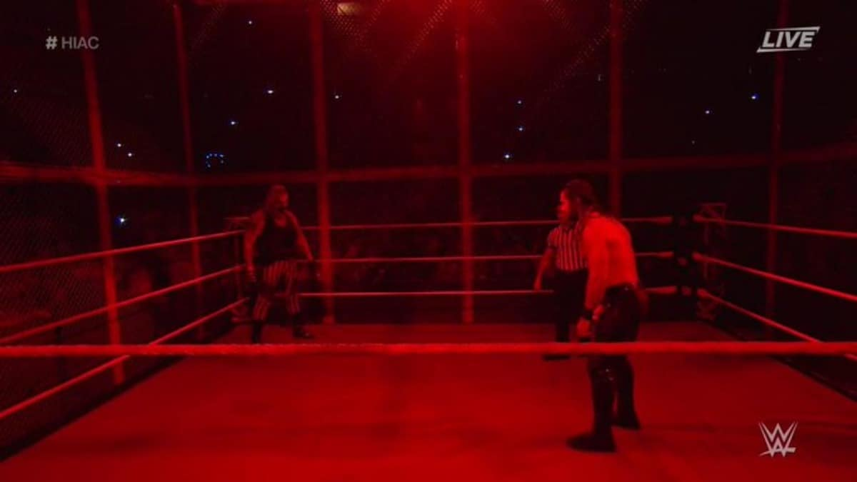 WWE concludes Hell in a Cell PPV with a DQ finish
