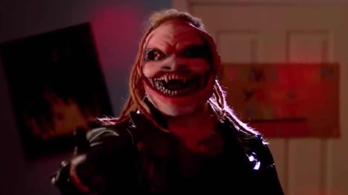 wwe superstar bray wyatt as the fiend