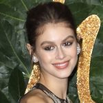 model kaia gerber at the fashion awards 2018 event in london
