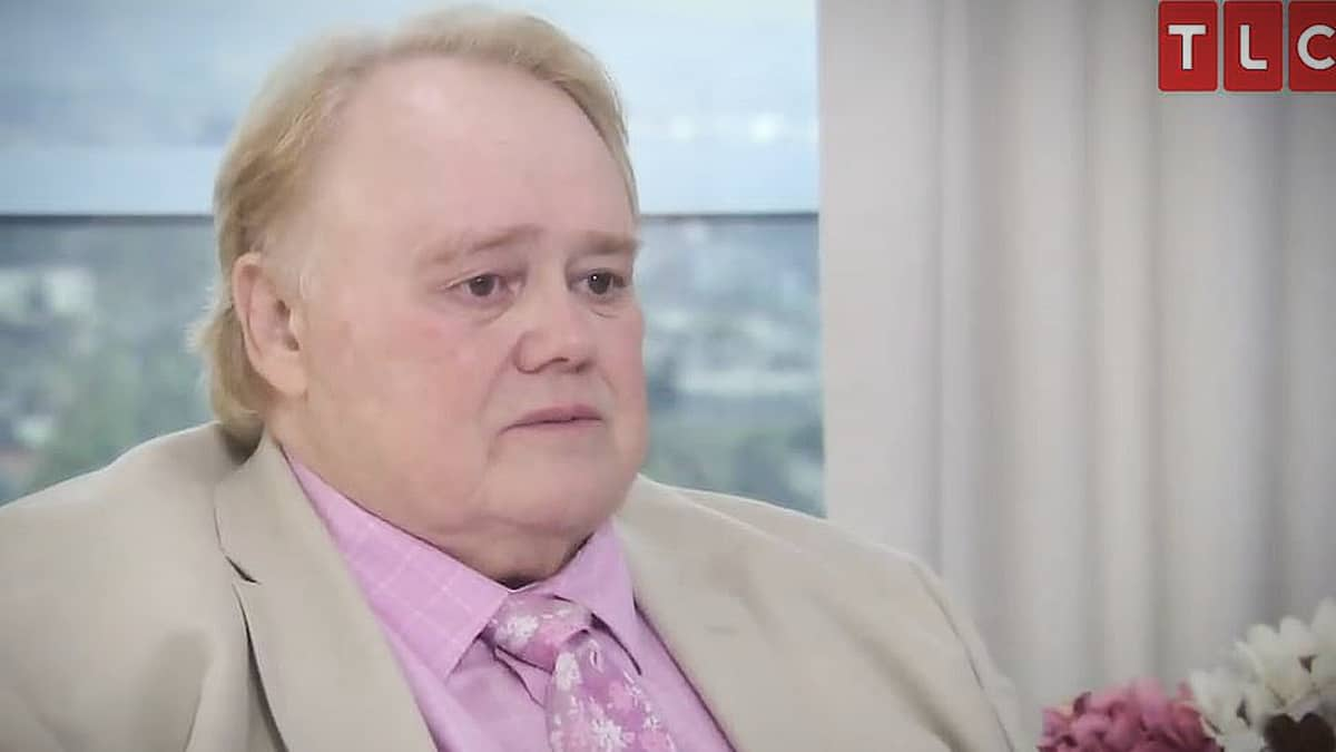 Louie Anderson loves his big family and was very emotional with Theresa. Pic credit: TLC