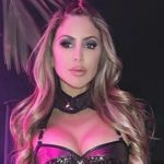larsa pippen in warrior costume from paris hilton halloween party
