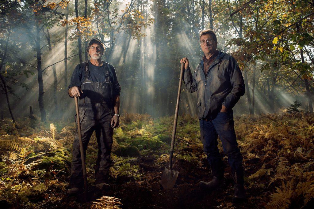 Rick and Marty Lagina during The Curse of Oak Island Season 7