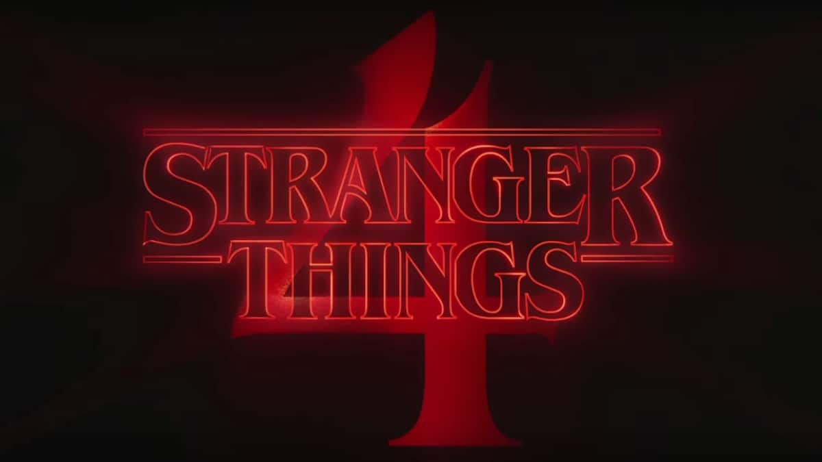 Stranger Things 4 logo